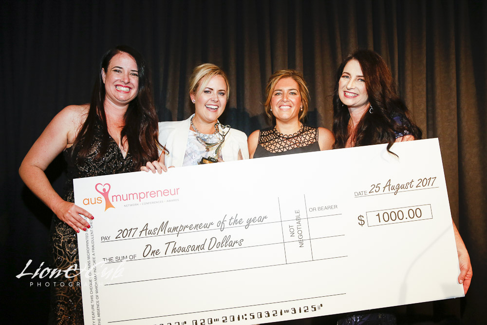 And the winners of the 2017 AusMumpreneur Awards are